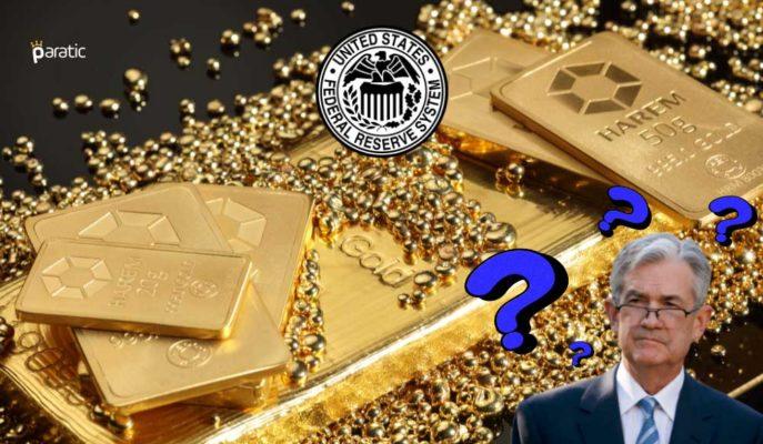 Radarına Powell Açıklamalarını Alan Altın Fiyatları Yükselişe Geçti
