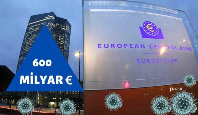 Avrupa Merkez Bankası Varlık Alımını 600 Milyar Euro Genişletti