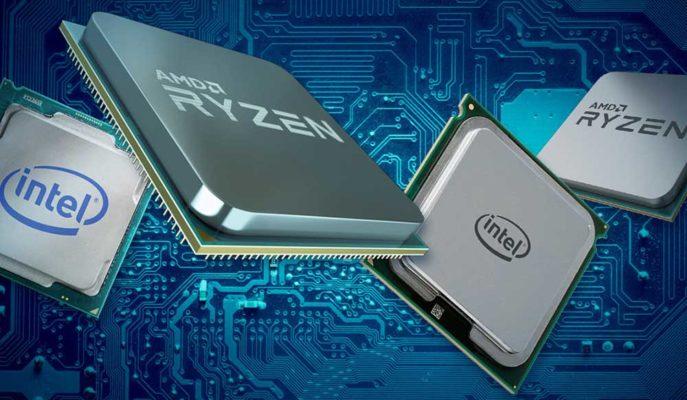 AMD Son Günlerde İşlemci Satışlarında Intel'i Geride Bıraktı