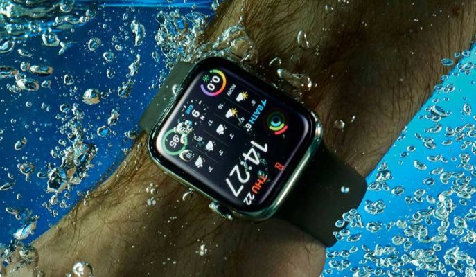 Apple Watch'ın Sudan Çıktıktan Sonra Hoparlörünü Nasıl Temizlediği Gösterildi