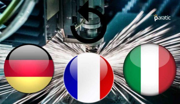 Avrupa'nın İmalat PMI Endeksleri En Kötünün Ardından Mayıs'ta Toparlandı