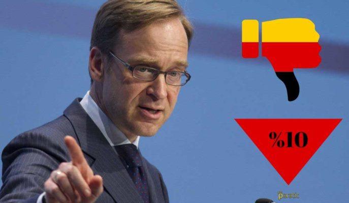 Bundesbank Başkanı Almanya Ekonomisinin 2Ç20'de %10 Küçülmesini Bekliyor
