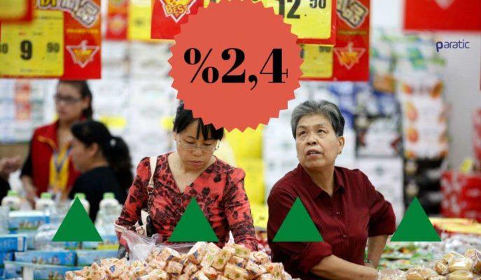 Çin Enflasyonu Mayıs'ta %2,4 Artışla Beklentinin Altında Kaldı