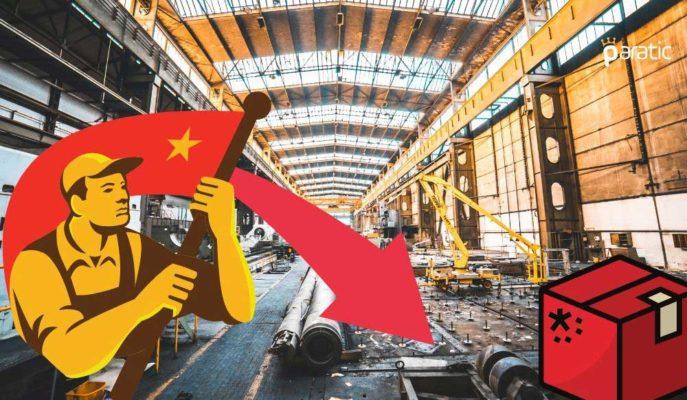 Çin İmalat PMI Mayıs'ta 0,2 Puan Azalarak 50,6'ya Geriledi