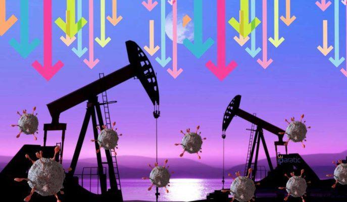 Çin'deki Yeni Coronavirüs Vakaları Petrol Fiyatlarındaki Düşüşü Hızlandırdı
