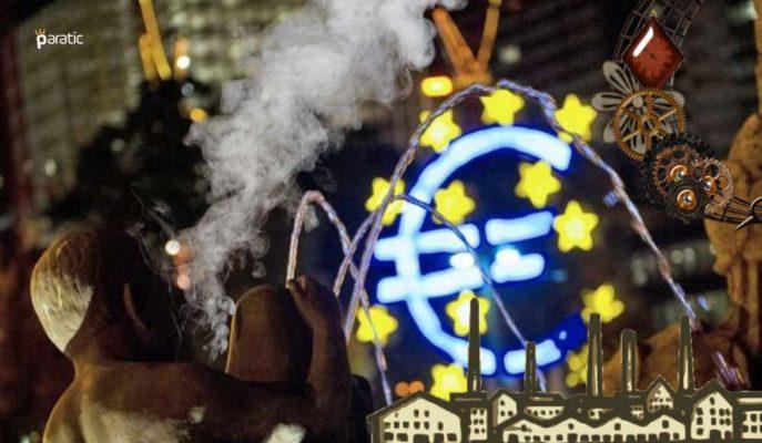 Euro Bölgesi'nde Nisan Sanayi Üretimi %17,1 Düşerek Sert Çakıldı