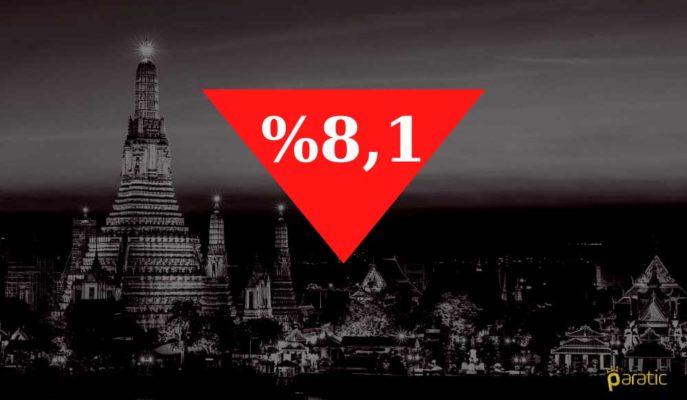 Faiz Değiştirmeyen Tayland MB, GSYİH Düşüş Tahminini %8,1'e İndirdi