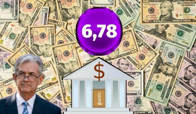 FED'in Haziran'daki Faiz Kararına Odaklanan Dolar, 6,78'lerde Yatay Seyrediyor
