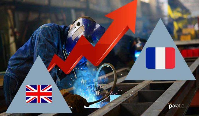 Fransa ve İngiltere İmalat PMI Haziran'da Artarak Toparlanmanın Hızlandığına İşaret Etti
