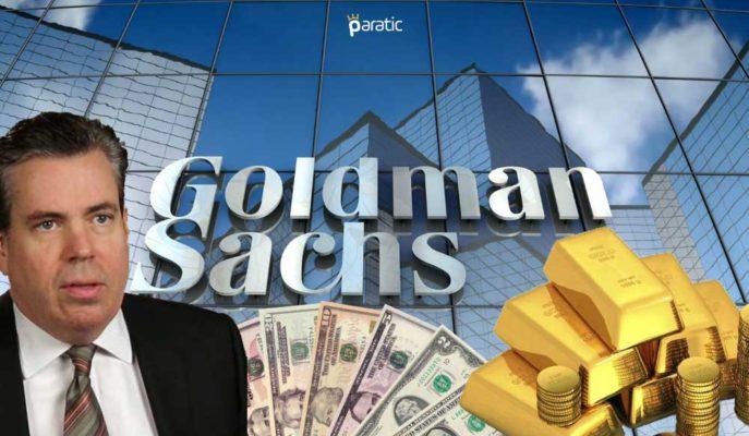 """Goldman Sachs: """"Altın FED'in Enflasyon Hedefi Aşılırsa 2000 Doları Geçebilir"""""""