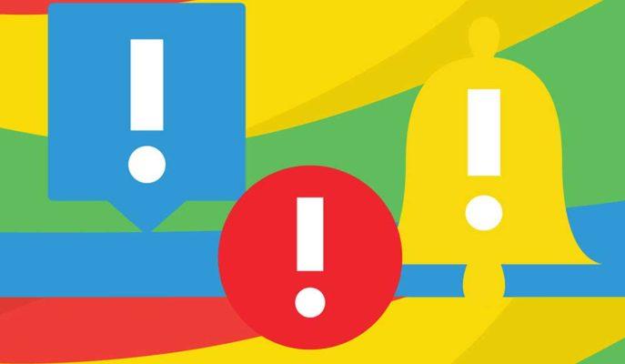 Google Chrome Sitelerden Gelen Kötü Amaçlı Bildirimleri Engelleyecek