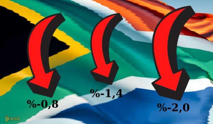 Güney Afrika %2 Düşüşle Üçüncü Ardışık Ekonomik Daralmasını Kaydetti