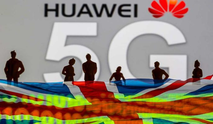 Huawei İngiltere'deki 5G Yatırımlarına Yönelik Gazetelere Tam Sayfa İlan Verdi