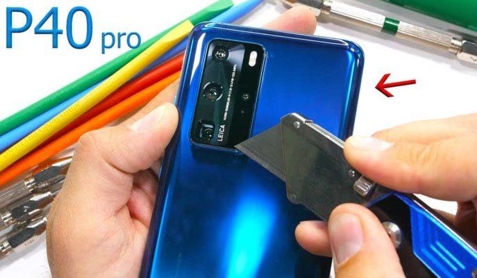 Huawei'nin En Güçlüsü P40 Pro Sağlamlık Testinden Tam Puan Aldı
