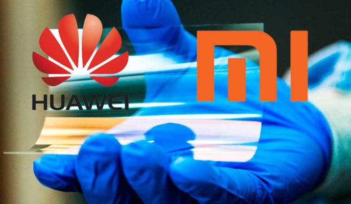 Huawei ve Xiaomi Katlanabilir Telefonlarında Ultra İnce Cam Teknolojisini Düşünüyor