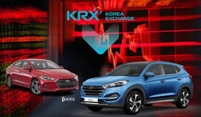 Hyundai Hisseleri %4'ten Fazla Düşerek Güney Kore Piyasasını Geriletti