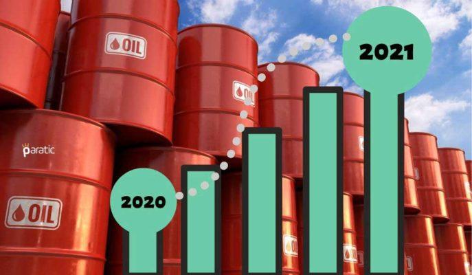 IEA: Küresel Petrol Talebi 2021'de Günlük 5,7 Milyon Varil Artacak