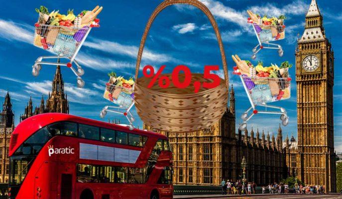 İngiltere Enflasyonu Mayıs'ta %0,5 Olurken, Oran MB Hedefinin Çeyreğini Yansıttı