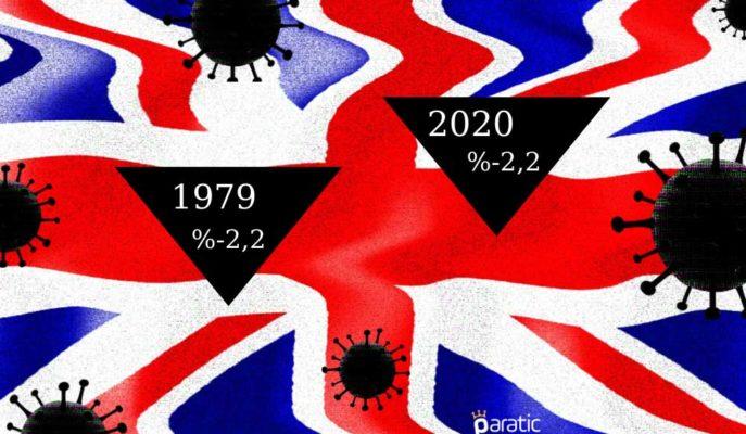 İngiltere GSYİH'sinde 40 Yılın En Büyük Düşüşü Kaydedildi
