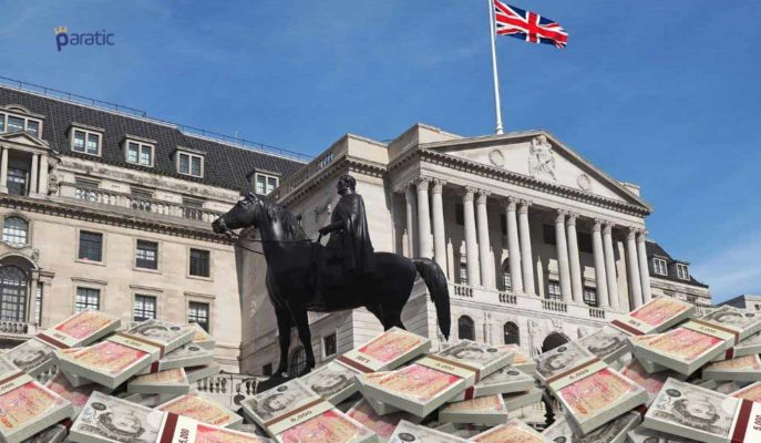 İngiltere Merkez Bankası Varlık Alım Programını 745 Milyar Sterline Yükseltti