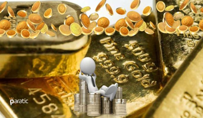 İnişli Çıkışlı Seyreden Altın Fiyatları, Hafif Yükselişe Yöneldi
