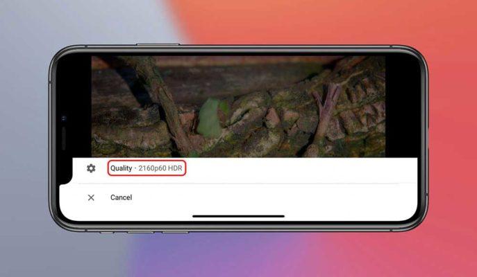 iOS 14 ile YouTube Videolarının Çözünürlüğü Artacak