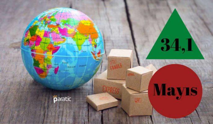 İSO Türkiye İhracat İklimi Endeksi Mayıs'ta 34,1 ile Dipten Çıkış Yaptı