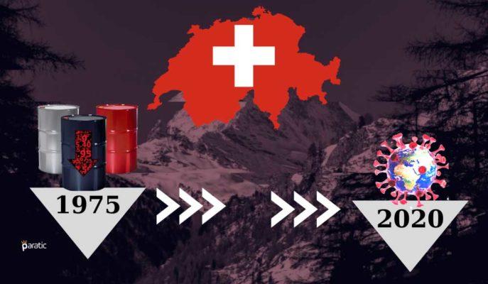 İsviçre 1975'ten Bu Yana En Kötü Ekonomik Çöküşüne İlerliyor