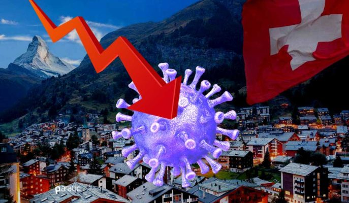 İsviçre Ekonomisi 1Ç20'de Covid Etkisiyle %2,6 Daraldı