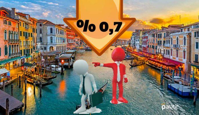 İtalya'nın Nisan İş Kaybı Pandemi Dolayısıyla 274 Bin Oldu