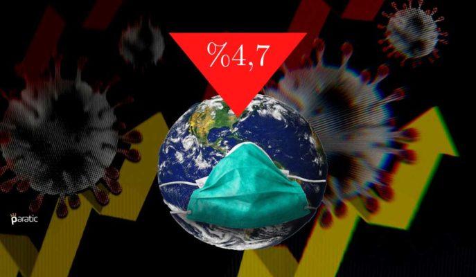 Küresel Büyüme %4,7 Düşerken 2Ç21'e Kadar Virüs Öncesi Seviyelere Dönülemeyecek