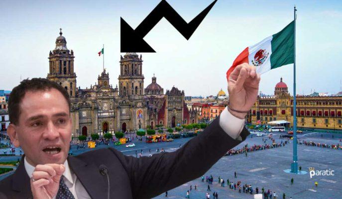 Meksika Ekonomisinin Covid-19 ile Nisan'da %17 Küçüldüğü Söyleniyor