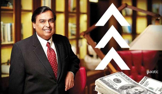 Mukesh Ambani Yeniden Dünyanın En Zengin 10'u Arasında