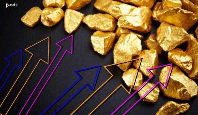 Altın Ons Bazında 1800 Doları Zorlarken, Gramı Yeni Rekor Denemelerinde