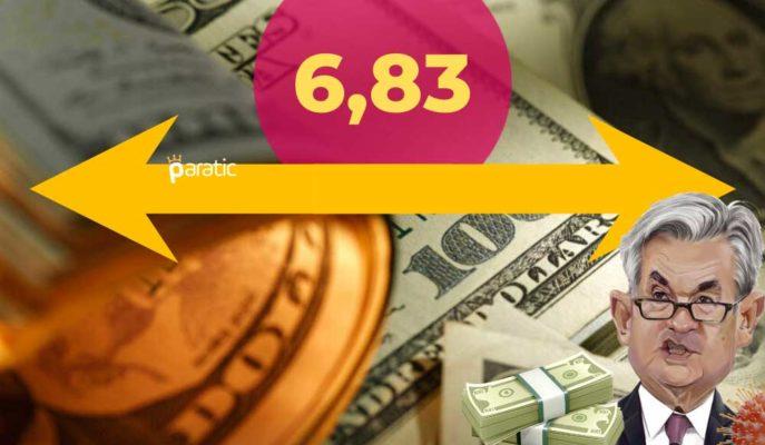 Powell'ın Sunumunu İzleyen Dolar 6,83 Sınırını Aşmaya Çabalıyor
