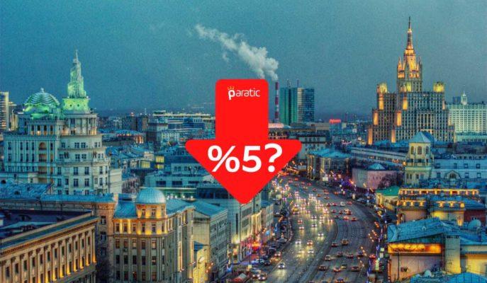 Rusya'nın Faiz Oranlarını Tarihi Düşük Seviyeye İndirmesi Bekleniyor