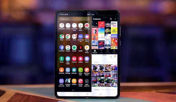 Samsung İlk Katlanabilir Telefonu Galaxy Fold'un Kamera Performansını Artırdı