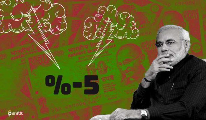 S&P: Hindistan Ekonomisi %5 Daralma Tahmini ile Vahim Durumda