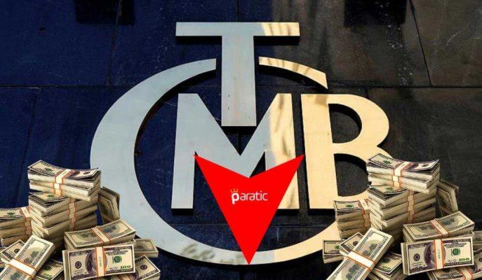 TCMB Brüt Döviz Rezervi %0,23 Azalarak 55 Milyar 483 Milyon Dolara Geriledi