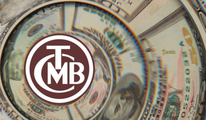 TCMB'nin Brüt Döviz Rezervleri Haftalık Bazda %2,3 Arttı