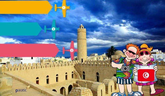 Ekonomisinin %10'u Turizme Bağlı Olan Tunus, Gelirini Artırmak için Sınırlarını Açıyor