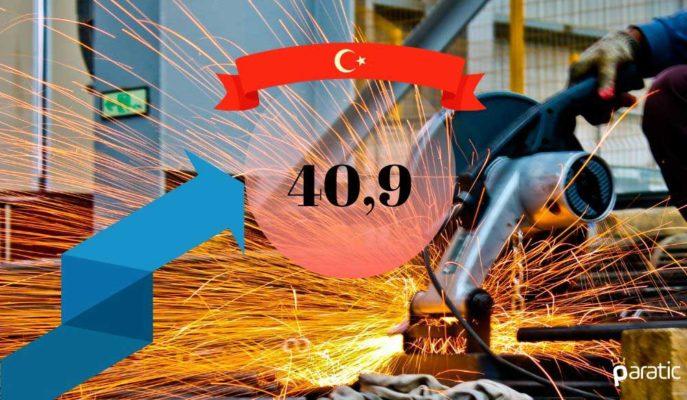 Türkiye İmalat PMI Mayıs'ta Toparlanarak 40,9'a Yükseldi
