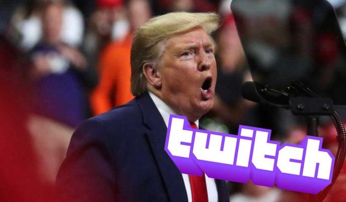 Twitch, Trump'ın 2016'daki Irkçı Sözleri Nedeniyle Hesabını Dondurdu