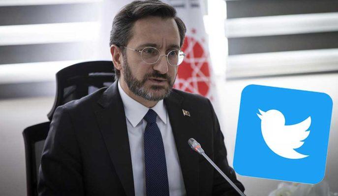 Twitter'ın Türkiye'deki Hesapları Kaldırmasına İlk Tepki, İletişim Başkanı Fahrettin Altun'dan Geldi