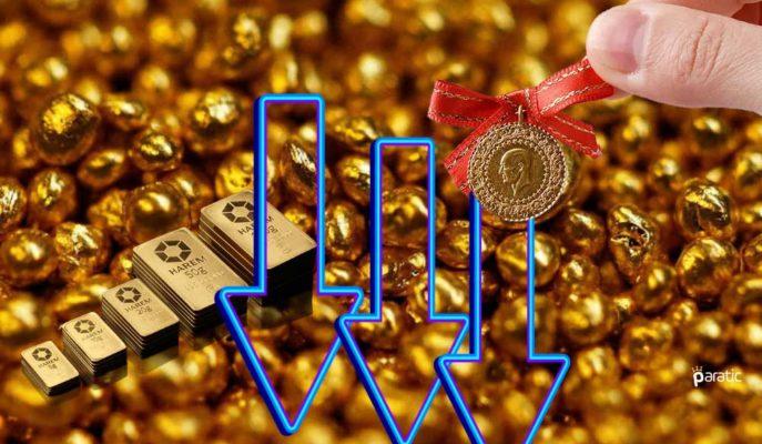 Yatırımcıların Artan İyileşme Beklentileri, Altın Fiyatlarını Sert Geriletti