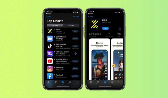 TikTok'un Rakibi Zynn'in Play Store'dan Kaldırılması Sonrası Google'a Tepki Var