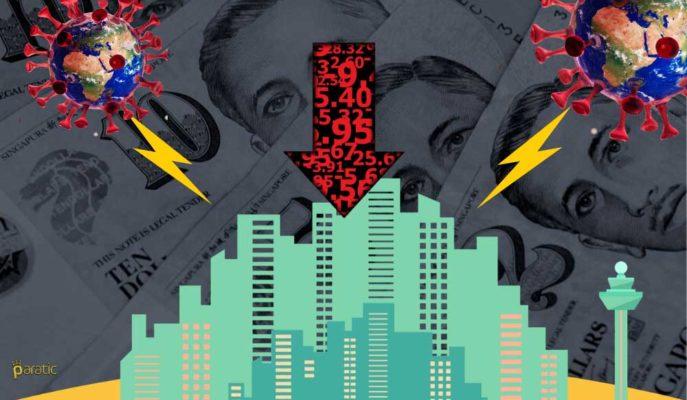 2Ç20'de %41'lik Rekor Düşüş Kaydeden Singapur Ekonomisi Resesyona Girdi