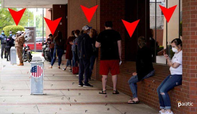 ABD'de Haftalık İşsizlik Maaşı Başvuruları 10 Bin Daha Azaldı