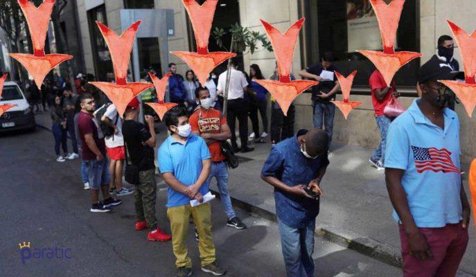 ABD'de İşsizlik Maaşı Başvuruları 1,31 Milyona Geriledi