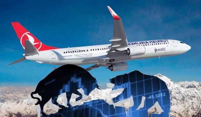 Ağustos Uçuş Takvimini Açıklayan THY Hisseleri %1,5'e Yakın Primlendi